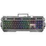 Клавиатура проводная игровая Defender Renegade GK-640DL, ENG/RUS, USB, RGB подсветка, 7 режимов.1.5м GK-640DL