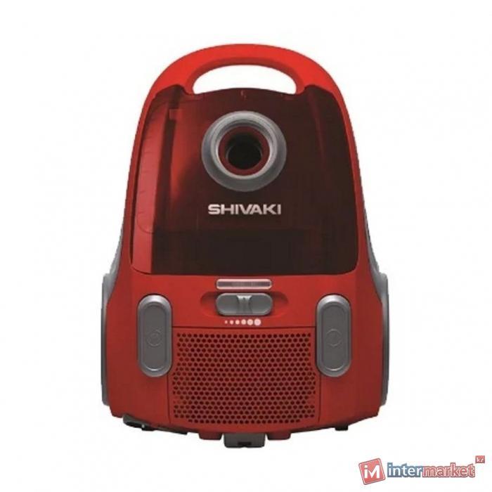 Пылесос SHIVAKI VCU 0120 red