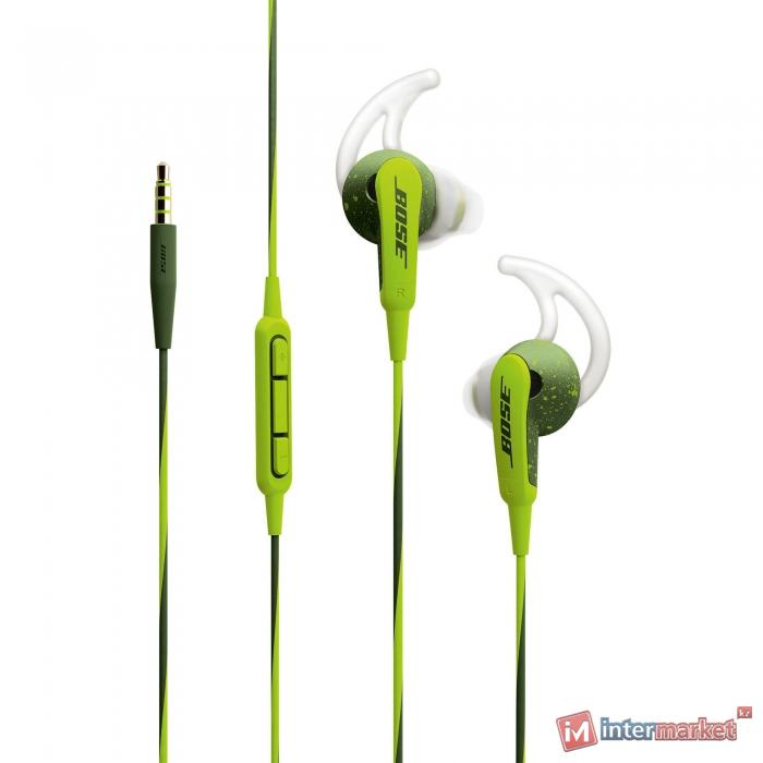Наушники Bose SoundSport In-ear Green для Apple
